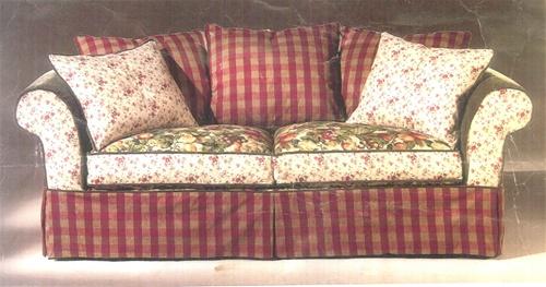 "Slipcovers For Rowe 6750 96"" Sofa"