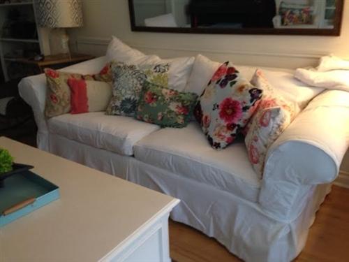 Gallery Of Rowe Sofa Slipcovers With Rowe Sofa Slipcovers