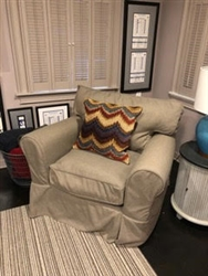 Restoration Hardware Rolled Arm Classic Chair