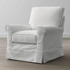 Crate Amp Barrel Harborside Swivel Chair Slipcovers