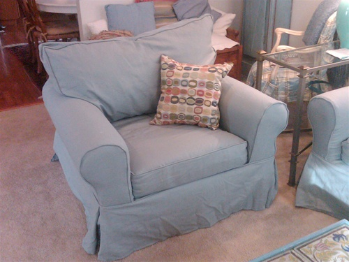 Pottery Barn Basic Sofa Slipcover Larger Photo Email A Friend