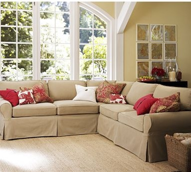 were sectional living honey home potterybarn room pearce id pottery perfect our couch barn