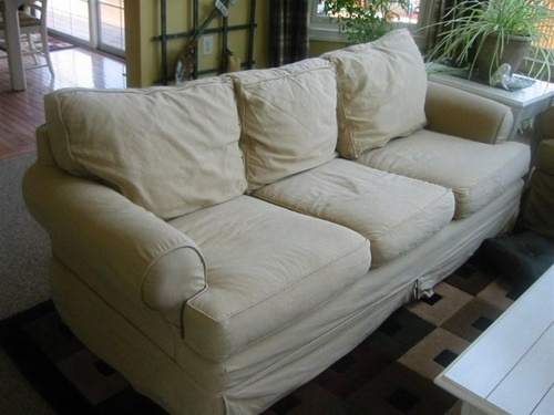 Slipcovers For Restoration Hardware Leigh Sofa By Mitchell