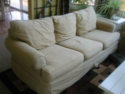 Slipcovers for Restoration Hardware Leigh Sofa by Mitchell Gold