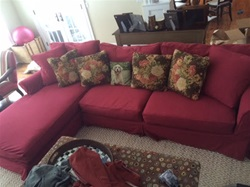 Slipcovers for Restoration Hardware Grand Scale Rolled Arm Sectional Left Facing Chaise