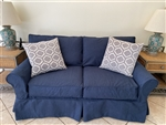 Slipcover for Crate & Barrel Potomac Loveseat