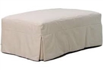Slipcover for Crate & Barrel Potomac Storage Ottoman