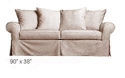 Mitchell Gold Marin Sofa Sleeper Replacement Slipcovers