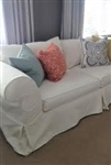 Slipcovers for Crate & Barrel  Sausalito Loveseat