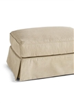 Slipcover for Crate & Barrel Bloomsbury Ottoman and a Half