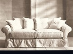 Slipcover for Crate & Barrel  Bloomsbury Sofa