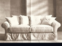 Slipcover for Crate & Barrel  Bloomsbury Sleeper Sofa