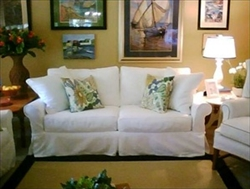 Slipcover for Crate & Barrel Bayside Apt Sofa