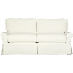 Slipcover for Crate & Barrel Bayside Sleeper Sofa with Full Sleeper 78""