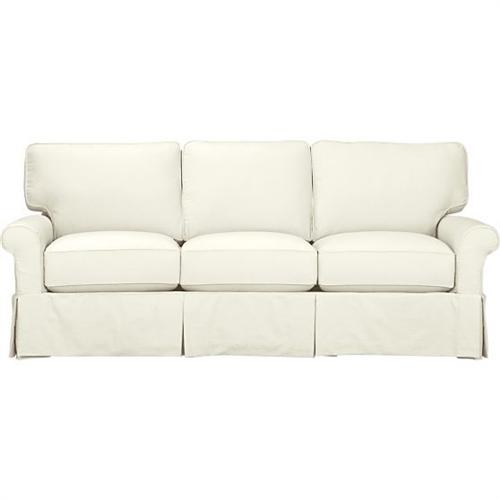 Slipcover For Crate Amp Barrel Three Cushion Bayside Sofa