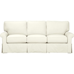 Slipcover for Crate & Barrel three Cushion Bayside  Sofa