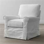 Slipcover for Crate & Barrel Harborside  Swivel Chair