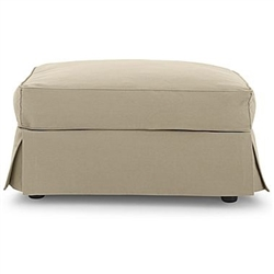 JC Penney Friday Large Ottoman, JCP Linden Street Large Ottoman Slipcover