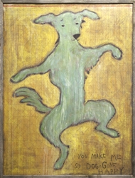 Wall Art - Dancing Dog