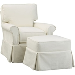 Slipcover for Crate and Barrel Bayside Arm Chair