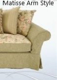 Domain Matisse Love Seat Slipcover