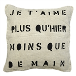Je T'aime Pillow