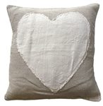 Stitched Heart Pillow