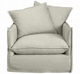 C&B Oasis Chair, Crate and Barrel Oasis Chair slipcover