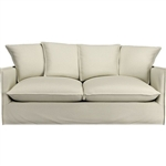 C&B Oasis Sofa, Crate and Barrel Oasis apartment sofa slipcover