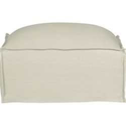 Slipcover for OASIS OTTOMAN by Crate & Barrel
