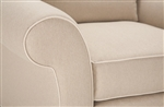 Contrasting piping for Loveseat SC