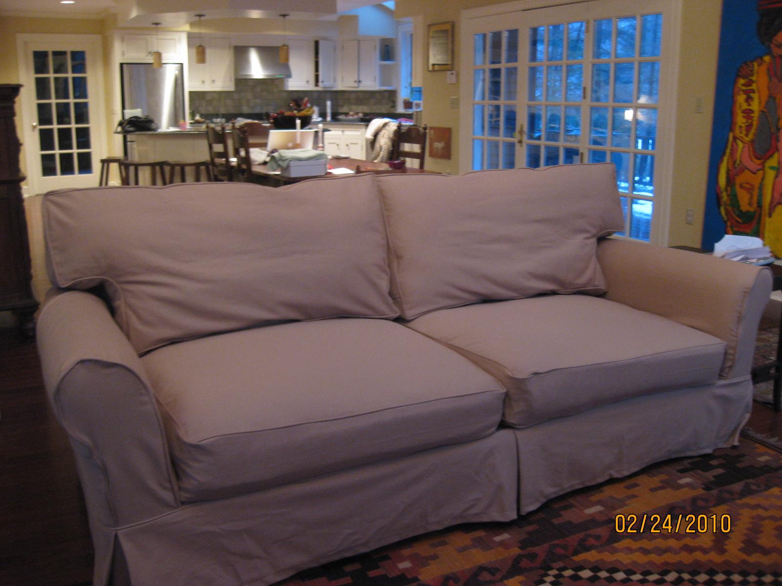 Pottery Barn Sleeper Sofa Slipcover hmmi